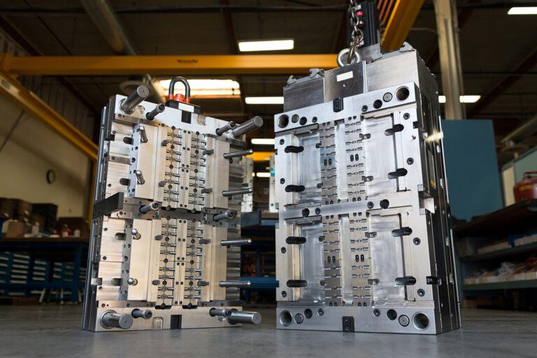 Wtrysk plastiku - forma wtryskowa Knauf Industries