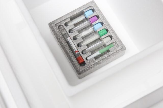 Opakowania styropianowe dlabranży farmaceutycznej